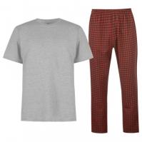 Pantaloni Pijamale Howick Howick cu dungi Gingham pentru Barbati