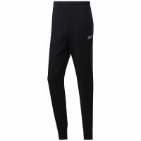 Pantaloni Reebok TE Linear Logo FT J negru FP9130