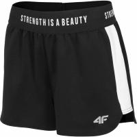 Pantaloni scurti 4F H4L19 SKDD003 20S negru intens femei