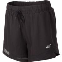 Pantaloni scurti 4F H4L19 SKDF003 20S negru femei