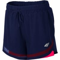 Pantaloni scurti 4F H4L19 SKDF003 30S bleumarin inchis femei
