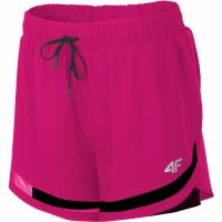 Pantaloni scurti 4F H4L19 SKDF003 53S Dark roz femei