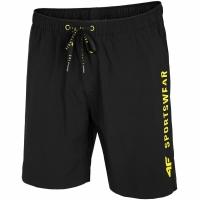 Pantaloni scurti 4F Jet negru H4L20 SKMT002 20S pentru Barbati