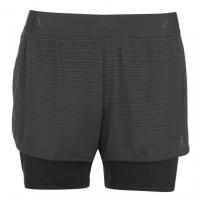 Pantaloni scurti adidas 2 in 1 Climachill pentru Femei