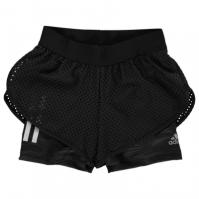 Pantaloni scurti alergare adidas pentru fetite