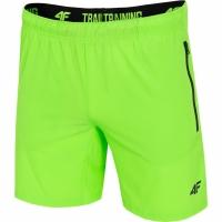 Pantaloni scurti barbati 4F H4L19 SKMF006 41N verde Neon