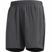 Pantaloni scurti barbati Adidas Own The Run SH gri inchis DQ2558