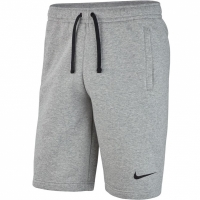 Pantaloni scurti barbati Nike M Short FLC Team Club 19 J gri AQ3136 063