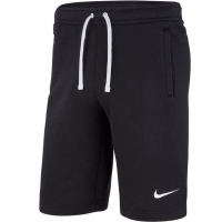 Pantaloni scurti barbati Nike M Short FLC Team Club 19 negru AQ3136 010