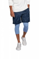 Pantaloni scurti barbati UA MK-1 Printed Blue Under Armour