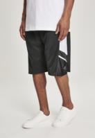 Pantaloni scurti baschet plasa negru Southpole