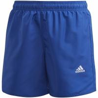 Pantaloni scurti Bathrobes For Adidas YB Bos albastru GE2047 pentru Copii