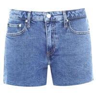 Mergi la Pantaloni scurti Blugi Calvin Klein Calvin Mid Rise Embroidered