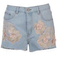 Pantaloni scurti blugi Glamorous Embroidered