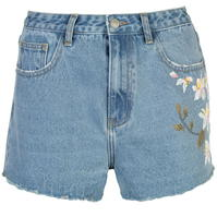 Pantaloni scurti blugi Glamorous Floral