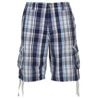 Pantaloni scurti cargo SoulCal Check pentru Barbati