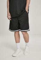 Pantaloni scurti cu dungi Premium negru Urban Classics