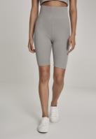 Pantaloni scurti cu talie inalta Cycle pentru Femei verde-gri Urban Classics