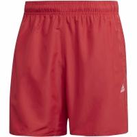 Pantaloni scurti de baie Adidas Solid CLX SH SL barbati FJ3380 rosu