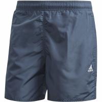 Pantaloni scurti de baie Adidas Solid CLX SH SL barbati gri FJ3377