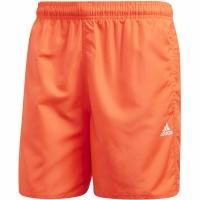 Pantaloni scurti de baie Adidas Solid CLX SH SL barbati portocaliu FJ3383