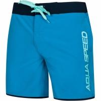 Pantaloni scurti de baie Aqua-Speed Evan barbati , negru And negru, Col 42 pentru femei