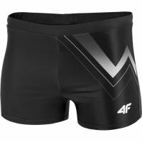 Pantaloni scurti de baie barbati 4F H4L19 MAJM003 20S negru intens