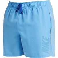 Pantaloni scurti de baie barbati Nike Logo Solid albastru NESS9504 438 pentru femei