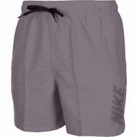 Pantaloni scurti de baie barbati Nike Logo Solid gri NESS9504 071