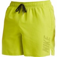 Pantaloni scurti de baie barbati Nike Logo Solid Lime NESS9504 327 pentru femei