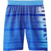Pantaloni scurti de baie For Nike Just Do It albastru NESS9696 416 pentru Copii pentru femei