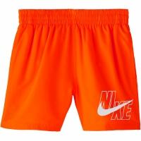 Pantaloni scurti de baie Nike Logo Solid Lap portocaliu NESSA771 822 copii pentru copii