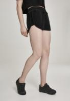 Pantaloni scurti de plaja pentru Femei negru Urban Classics