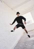 Pantaloni scurti Heavy Pique negru Urban Classics