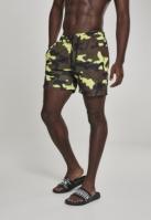 Pantaloni scurti inot Camo frozenyellow-camuflaj Urban Classics