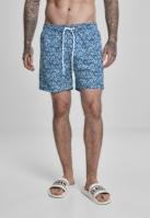Pantaloni scurti inot Floral bleumarin Urban Classics
