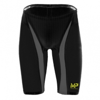 Pantaloni scurti inot Michael Phelps Michael Phelps Xpresso pentru Barbati negru argintiu