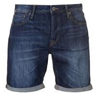 Pantaloni scurti blugi Jack and Jones Jeans Intelligence Rick