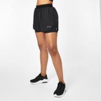 Pantaloni scurti Karrimor 2 in 1 pentru Femei