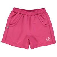 Pantaloni scurti LA Gear Woven pentru fete
