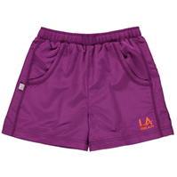 Pantaloni scurti LA Gear Woven pentru fetite