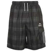 Pantaloni scurti Lonsdale 2 cu dungi Check pentru Barbati