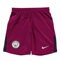 Pantaloni scurti Nike Manchester City Away 2017 2018 pentru copii