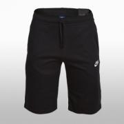 Pantaloni scurti bumbac Nike Jersey Club negru Barbati