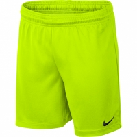 Pantaloni scurti Nike Park II tricot Short NB lime 725988 702 pentru copii