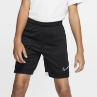 Pantaloni scurti Nike pentru baietei negru alb