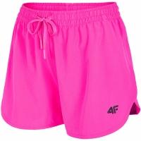 Pantaloni scurti roz 4F H4L20 SKDT004 54S pentru femei