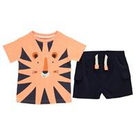 Pantaloni scurti Set bebelusi Crafted Essentials 2 Piece pentru baieti