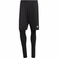 Pantaloni scurti Sort adidas barbati Condivo 18 2 In 1 negru BS0654