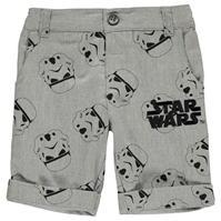 Pantaloni scurti Star Wars Chino baietei cu personaje